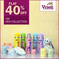 After a relaxing #summerholiday, its time for #kids to get back to #school. #Vrieti welcomes all #parents to visit our store and checkout amazing #collection of #waterbottles #snackbox and many more. For More Information, Call on: +91 120 4311245 #School #Kidscool #Schoolaccesories #Delhischool #Noida