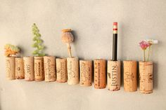 DIY - cork magnets