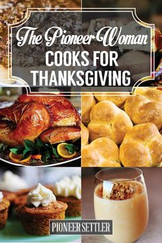Need some scrumptious recipe ideas for thanksgiving? You'll fall in love with The Pioneer Woman recipes for Thanksgiving! Pioneer Woman Thanksgiving, Thanksgiving Sides, Traditional Thanksgiving Recipes, Happy Thanksgiving, Hosting Thanksgiving, Food Network Thanksgiving, Thanksgiving Menu Planner, Thanksgiving Dinner Recipes, Happy Fall