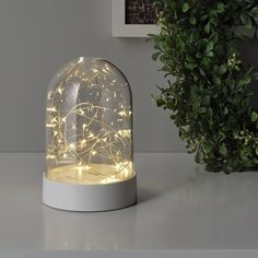 Led Decorative Lights, Solar Powered Lamp, Ikea Decor, Light Chain, Ikea Family, La Pile, Winter Light, Luz Led, Led String Lights