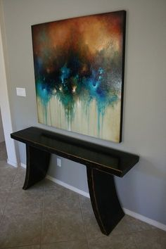 """I create a diverse range of acrylic works on 2"""" deep, all-wood panels (black painted edges). My main goal when painting is to create unforgettable, dynamic work. I focus on combining natural elements... Contemporary Abstract Art, Modern Art, Colorful Paintings, Art Paintings, Abstract Canvas Art, Abstract Expressionism, Painting Inspiration, Website, Santa Fe"""