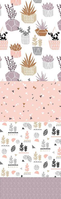 wendy kendall designs – freelance surface pattern designer » plantlife_doc