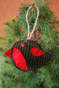 Christmas Tree Ornament by IrMarina on Etsy, $3.00 Christmas Tree Ornaments, Holiday Decor, Etsy, Home Decor, Decoration Home, Room Decor, Christmas Tree Toppers, Home Interior Design, Xmas Tree Decorations