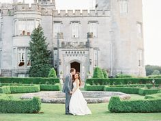 Real castle wedding in Dromoland Castle, Ireland