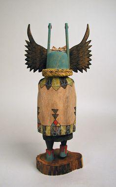 crow mother kachina, by? Arte Tribal, Tribal Art, American Indian Art, Native American Indians, Native Americans, Native Indian, Native Art, Art Premier, Arte Popular