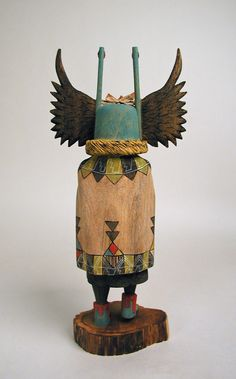 "crow mother kachina--awesomeness.But I'm not sure I'd want it ""staring"" at me in thedark"