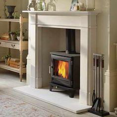 Home - Fireplace & Stove Centre Dorchester Log Burner Living Room, Living Room With Fireplace, My Living Room, Living Room Decor, Georgian Fireplaces, Victorian Fireplace, Marble Fireplaces, Fireplace Surrounds, Fireplace Design