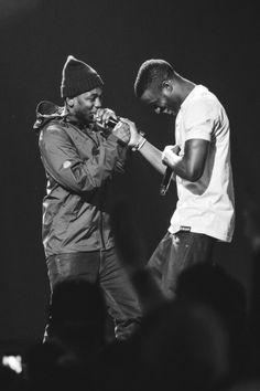 Kid Cudi and Kendrick Lamar. Restoring my faith in Hip Hop.