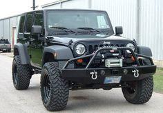 Ranch Hand BTJ071BLR Bullnose Front Bumper Jeep JK Wrangler 2007-2014