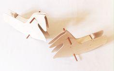 Rocking Horse - Wood Toy - Ecofriendly Toy
