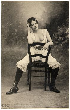 Beautiful Confidence (c.1904). (via Fin de siecle: ginger ninja:postaletrice) © Casas-Rodríguez Collection