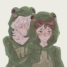 Hinata, Frog Costume, Danganronpa Game, Cat Icon, Fnaf Drawings, Nagito Komaeda, Draw On Photos, Kaito, Memes