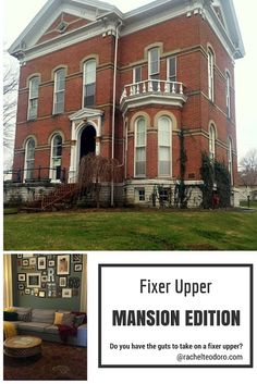 Fixer Upper Mansion Edition A young couple takes on rehabbing a historic mansion see their latest remodel