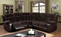 Hampshire Sectional With Recliners CM6809