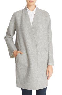 Rag & Bone 'Singer' Reversible Melton Wool Coat