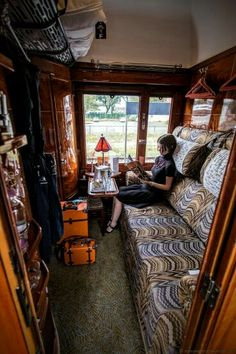 For the barrack type train car for visitors.