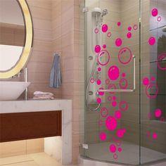 Nursery kitchen bathroom Bubble wall sticker removable waterproofing home wall decal PVC wall sticker