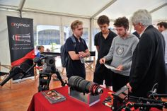 Interest of cinema students in the new Optimo Style 25-250