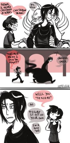 oh. mY. GODS. GEEK NICO AND BUSY HADES ASDFGHJKL