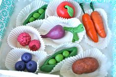 Marzipan Fruits and Veggies by marionsvintagebakery on Etsy,