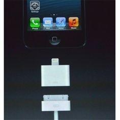 iPhone 5 / iPad4 / Mini iPad Compatible Adapter to 30-pin Port - FixShippingFee- - TopBuy.com.au