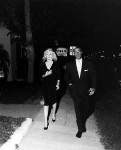 Marilyn Monroe and Joe DiMaggio, Florida, 1961