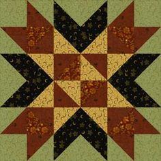 Wyoming Valley Quilt Block: Meet the Wyoming Valley Quilt Block