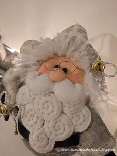 Babbo Natale nordico 2018 - Feltro