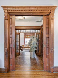 Brooklyn Homes for Sale in Bed Stuy at 575 Macon Street Pooja Door Design, Home Door Design, Front Door Design Wood, House Gate Design, Door Gate Design, Wooden Door Design, Main Door Design, Architect Design House, Victorian Interiors
