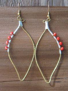 Del Greco Earrings - Tarajamu Designs