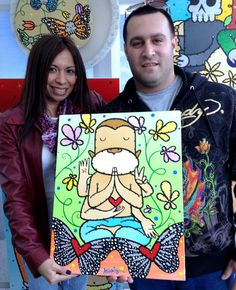 Ed King is a neo-pop artist from Miami, Florida. Find out more about these crazy paintings at edkingpopart.com.