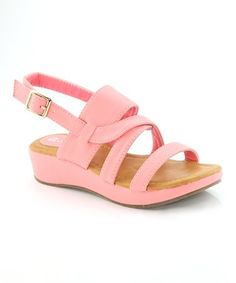 This Pink Elaine Sandal is perfect! #zulilyfinds