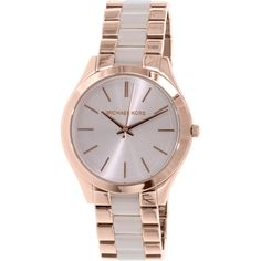 Michael Kors Women's MK4294 Rose Gold Stainless-Steel Quartz Watch