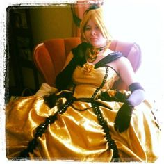 "A friend of mine who is too talented for her own good. I'm not sure if this should be on ""The Clothing Board"" or ""The Art(ish) Board"" so I'll just stick it on both. (Torihime: Kagamine Rin from Aku no Musume in Otaku House Cosplay Idol 2012)"