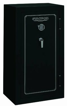 Stack-On FS-24-MB-E 24-Gun Fire Resistant Safe with Electronic Lock, Matte Black by Stack-On. $829.99. From the Manufacturer Stack-On's FS-24-MB-E 24-Gun Safe with Electronic Lock is tested and listed as a California Department of Justice firearms safety device that meets the requirements of California Penal Code Section 12088 and the regulations issued thereunder. This Stack-On safe is tested and verified to be fire resistant for 30 minutes up to 1400˚ F by ETL...