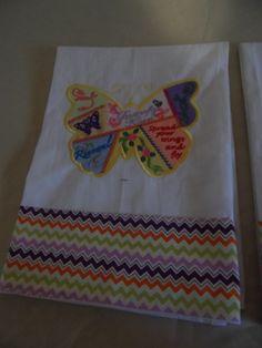 Crazy Quilt Flour Sack Towels