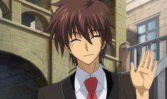 Akuto Sai from Demon King Daimao Ichiban Ushiro No Daimaou, Demon King Anime, Anime Guys, Manga Anime, Harem King, Magical Power, Student Gifts, Great Artists, Cute Girls