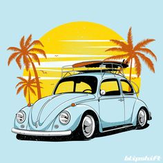 Proof that you don't have to be 'rad' to be 'cool'. You don't have to be fast to be awesome. Vw T, Volkswagen Bus, Silhouette Clip Art, Car Posters, Hippie Art, Car Drawings, Surf Art, Cute Illustration, Fabric Painting