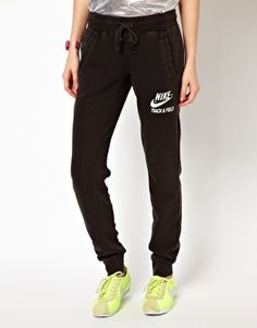 Nike Track & Field Sweat Pants -I personally hate wearing jeans all the time, I would rather wear sweats everyday, it's so much more comfortable!