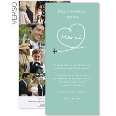 une carte de remerciements dans les nuages cette carte de remerciements de mariage a comme - Remerciement Mariage Personne Absente