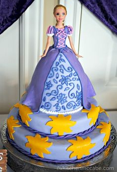 The Kitchen McCabe: Tangled/Rapunzel Birthday Party