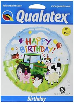 PIONEER BALLOON COMPANY Bday Barnyard Foil Pack 18 * Check this awesome product by going to the link at the image.  This link participates in Amazon Service LLC Associates Program, a program designed to let participant earn advertising fees by advertising and linking to Amazon.com.