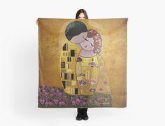 Kokeshi The kiss of Klimt by Pendientera