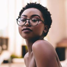"luvisblack: ""#LuvIsBlack #BeautifulBlackWoman #ChocolateBeauty "" | Grab your natural hair care products at Beautycoliseum.com"