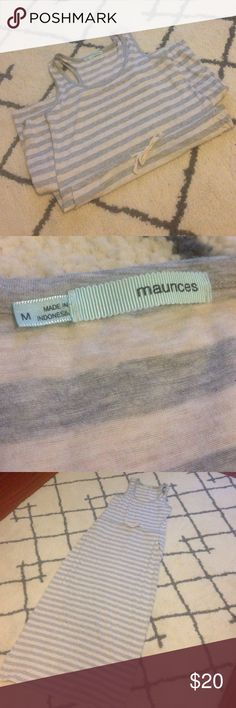 Maurice's Maxi Dress Maurices Maxi Dress-Size Medium-Great preowned condition-Ties at waist,racer back, two front side pockets-Any questions just ask-No trades or try ons-Thanks! Maurices Dresses Maxi