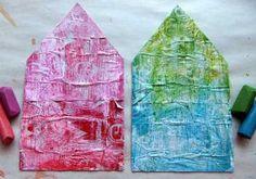 starburst wrapper background