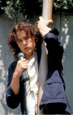 Heath Ledger crooning in 10 Things I Hate About You
