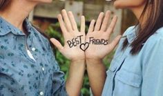 37 Fun and Clever Best Friend Photo Ideas some you should to for sister!!!!!
