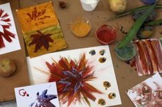 Make your own paint brushes with plants.