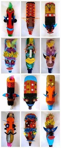 Ideas para reciclar garrafas o bidones de plástico